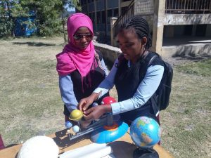 100Hours of Astronomy @Menelik kg n Primary School.