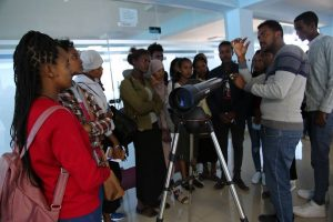 100 Hours of Astronomy under The Ethiopian Sky is officially kick off